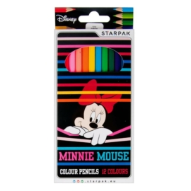 Minnie Mouse 12 db-os színesceruza készlet