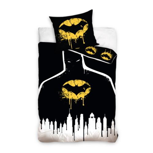 Batman ágyneműhuzat szett Black City