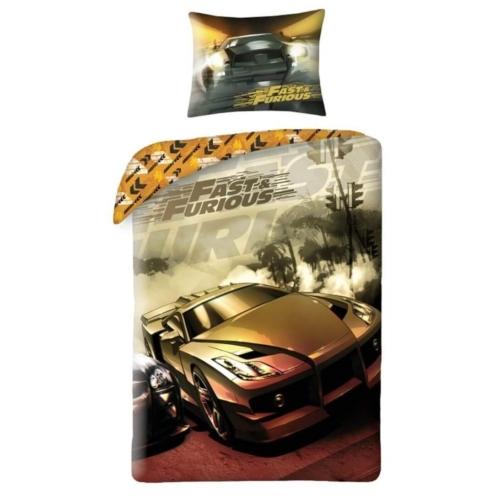 Fast & Furious Ágyneműhuzat szett - Arany