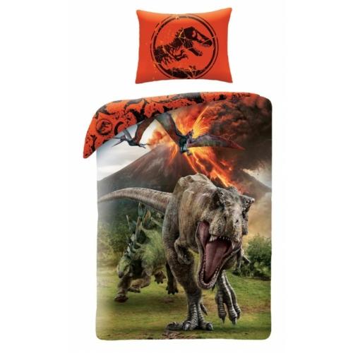 Jurassic World ágyneműhuzat szett - Menekülés (JW-9100BL)
