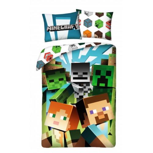 Minecraft ágyneműhuzat szett (MNC-200BL)
