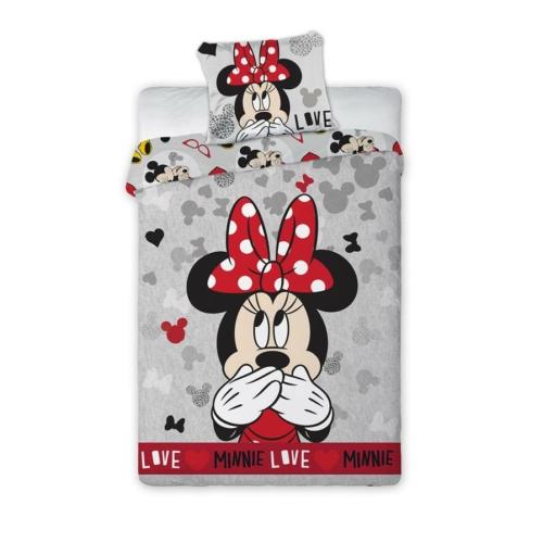 Minnie Mouse - Love ovis ágyneműhuzat szett
