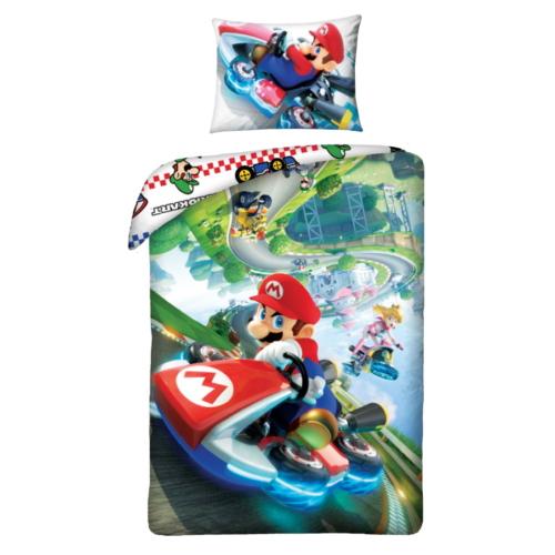 Super Mario ágyneműhuzat szett