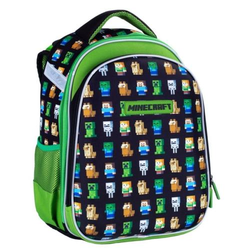 Minecraft ergonomikus iskolatáska, hátizsák - 2 rekeszes