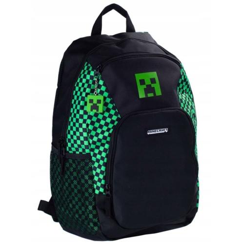 Minecraft iskolatáska, hátizsák - 3 rekeszes