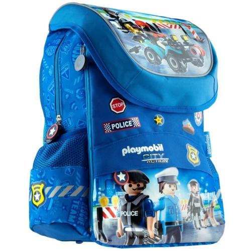 Playmobil ergonomikus iskolatáska - Rendőrség