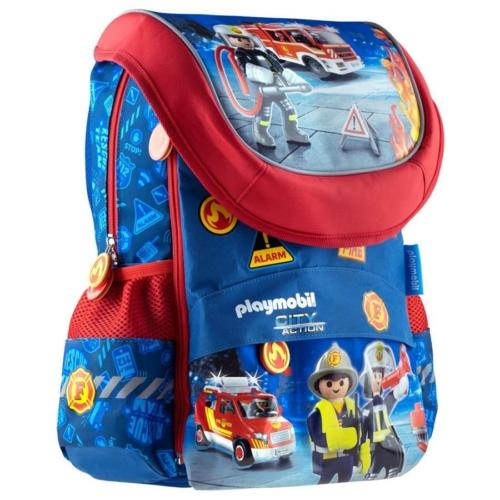 Playmobil ergonomikus iskolatáska - Tűzoltók