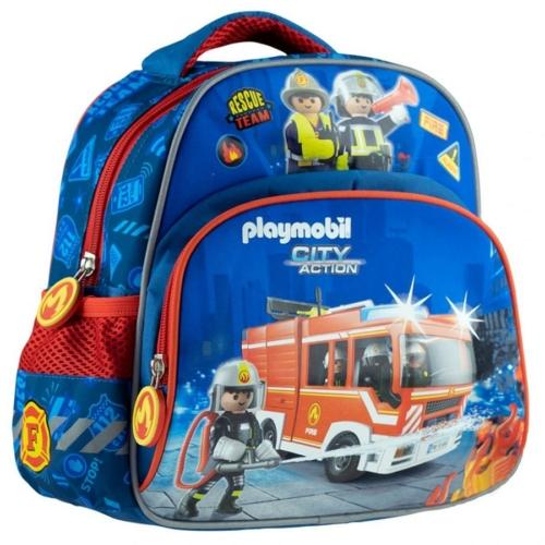 Playmobil kisméretű hátizsák - Tűzoltók