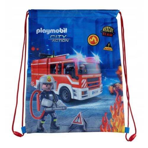 Playmobil tornazsák - Tűzoltók