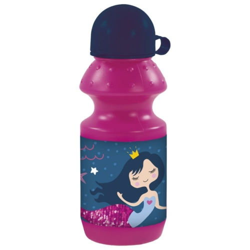 Hableány műanyag kulacs kupakkal - Princess of the sea (BKSY10)
