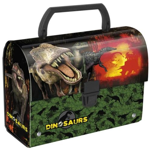 Dinoszauruszok bőrönd fogantyúval (KODN)