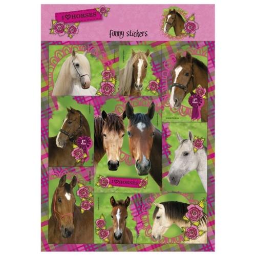 I love horses matrica 11 x 16 cm (NFKO)