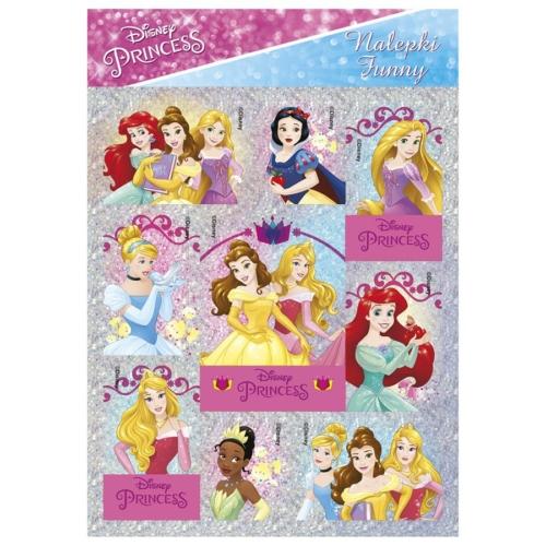 Disney Princess matrica 11 x 16 cm (NFKS)