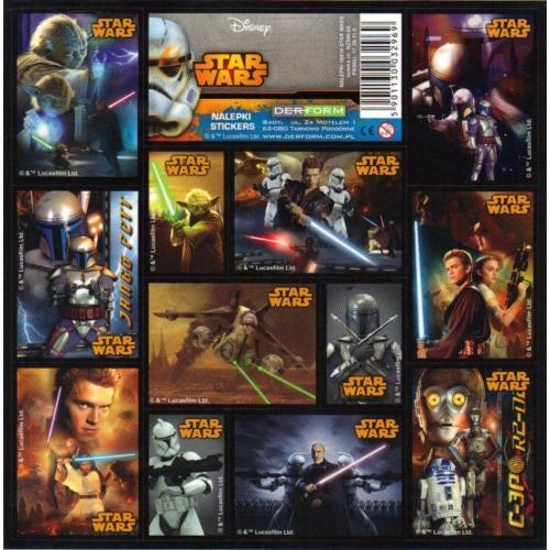 Star Wars matrica 16 x 16 cm (NZSW)