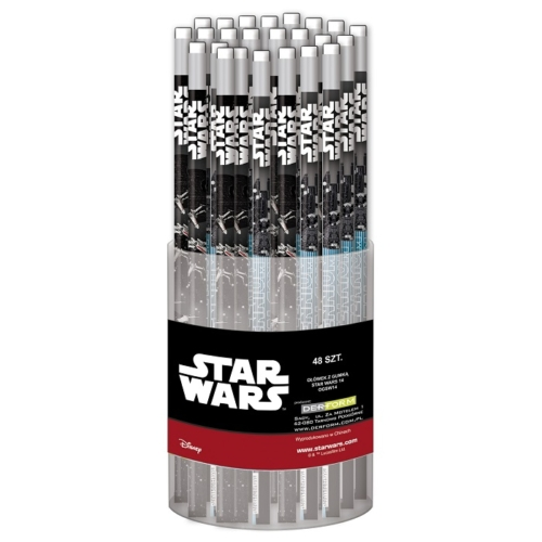 Star Wars HB grafit ceruza radírral (OGSW14)
