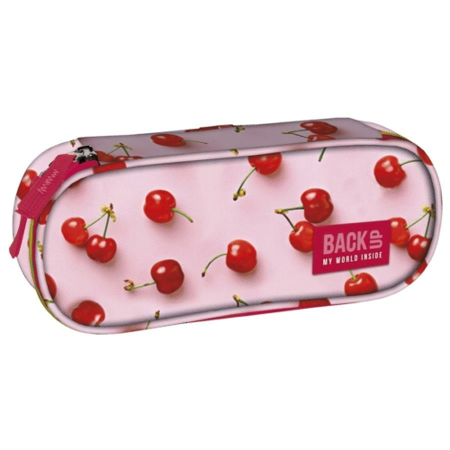 BackUp ovális tolltartó - Cseresznyés (PB2A31)