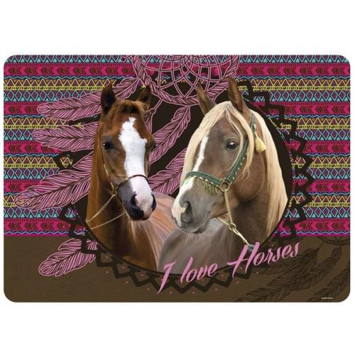 I love horses asztali alátét (PLAKO)