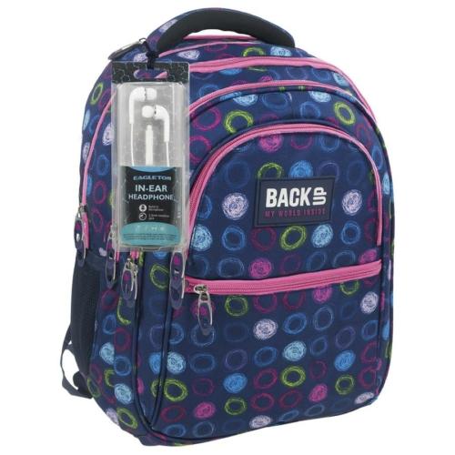 BackUp iskolatáska, hátizsák (PLB1B18)