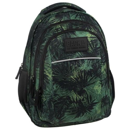 BackUp iskolatáska, hátizsák - 3 rekeszes - Őserdő (PLB2H49)
