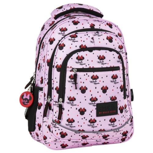 BackUp iskolatáska, hátizsák - 3 rekeszes - Minnie Mouse (PLB2XMM90)