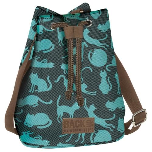 BackUp 2in1 mini vászon hátizsák - Cicák (TPCB2A56)