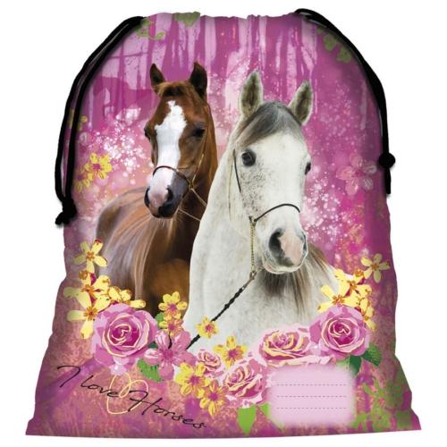 I love horses tornazsák - Erdőben (WOKO15)