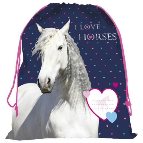Lovas tornazsák - I love horses (WOKO17)