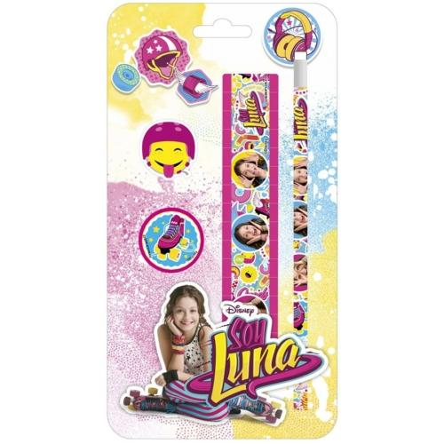 Soy Luna írószer szett - 4 db-os (ZPS4SL10)