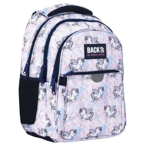 BackUp lovas hátizsák - 3 rekeszes - Pegazus