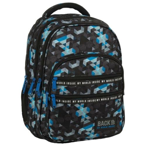 BackUp iskolatáska, hátizsák - 4 rekeszes - Mozaik