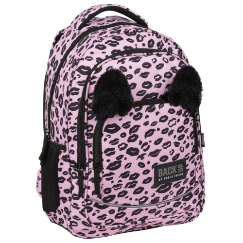 BackUp iskolatáska, hátizsák - 3 rekeszes - Kiss