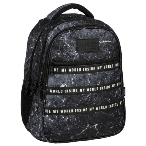 BackUp iskolatáska, hátizsák - 3 rekeszes - Terra