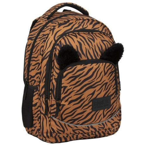 BackUp iskolatáska, hátizsák - 3 rekeszes - Tiger