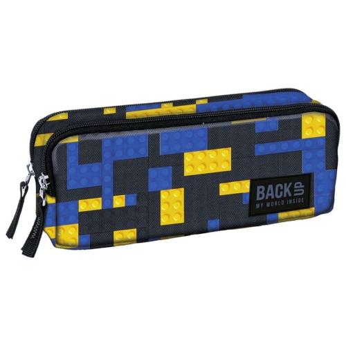 BackUp kétrekeszes tolltartó - Blocks