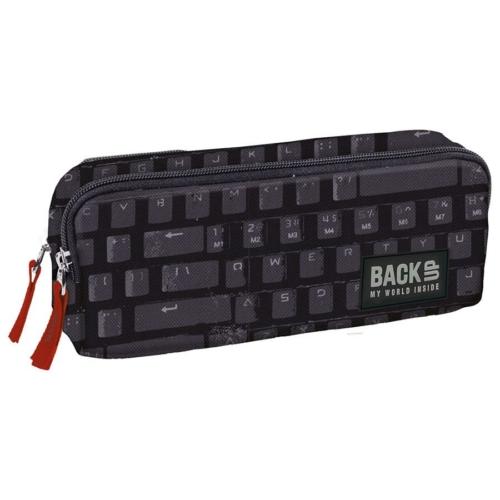 BackUp kétrekeszes tolltartó - Keyboard