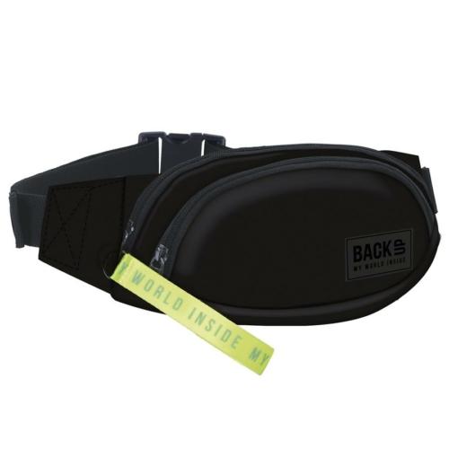 BackUp kétzsebes övtáska - Fluo black