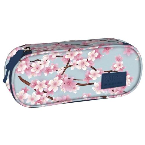 BackUp ovális tolltartó - Cseresznyevirág
