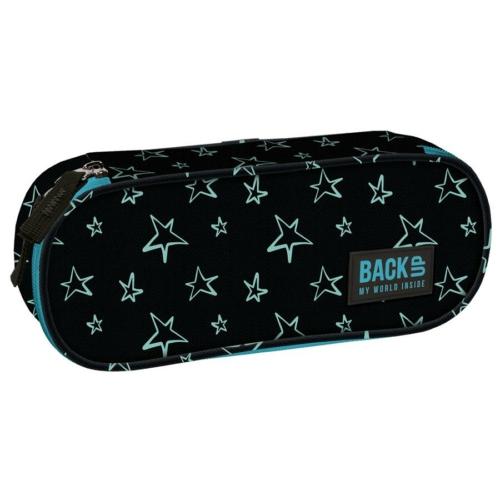 BackUp ovális tolltartó - Csillagok