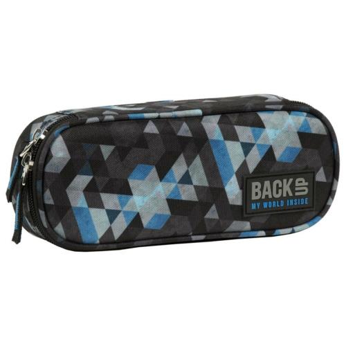 BackUp ovális tolltartó - Mozaik