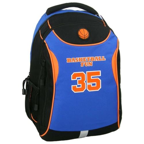 Basketball Fun 35 iskolatáska, hátizsák - 2 reBasketball Fun 35 iskolatáska, hátizsák - 2 rekeszeskeszes