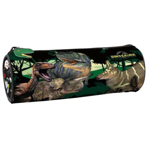 Dinoszauruszok henger alakú tolltartó