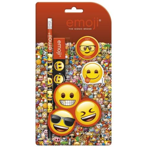 Emoji írószer szett - 4 db-os