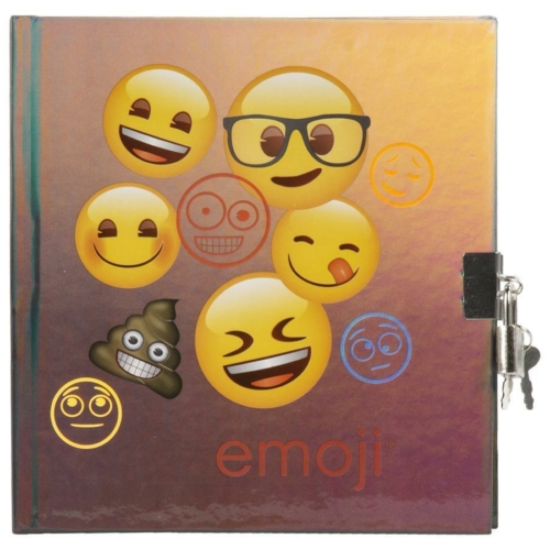 Emoji kulcsos napló 16,5 x 17,5 cm