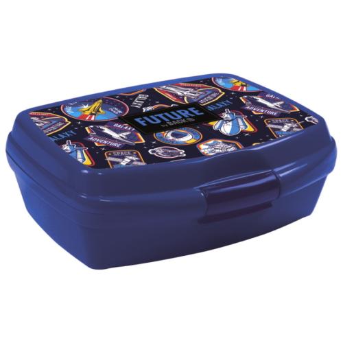 Galaxy adventure műanyag uzsonnás doboz - Future by BackUp