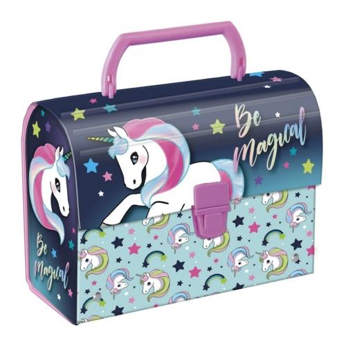Unikornis bőrönd fogantyúval - Be Magical