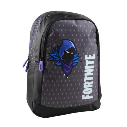 Fortnite 2 rekeszes hátizsák - Raven Dark Purple