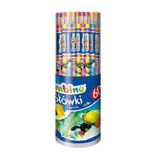 Bambino HB grafit ceruza radírral (001673)