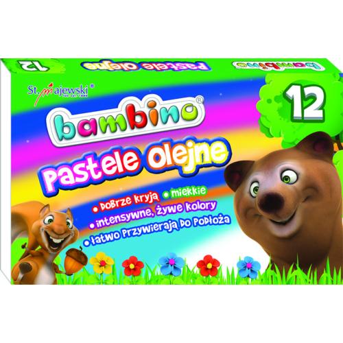 Bambino 12 színű olajpasztell kréta (003110)