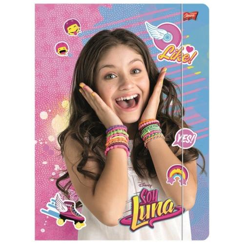 Soy Luna A/4 gumis mappa (271717)