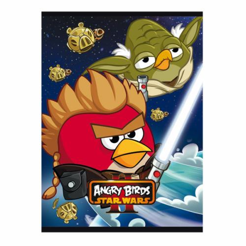 Angry Birds - Star Wars II. A/5 vonalas füzet - 32 lapos (290398)